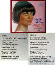 LP Mireille Mathieu: Und der Wind wird ewig singen (Ariola 88 277 IT) + Poster