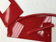 Trans Am Wheel Flare/Spoiler Welting Trim, 1970 to 1977, Buccaneer Red, 15Ft
