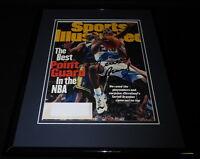Terrell Brandon Signed Framed 1997 Sports Illustrated Magazine Cover Cavs
