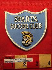 SPARTA SOCCER CLUB Collectible Jacket Patch SPARTAN WARRIOR 5DC1