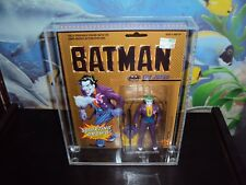 JOKER TOY BIZ DC CARDED  FIGURE THIS SALE IS FOR ACRYLIC CASES ONLY NO TOYS