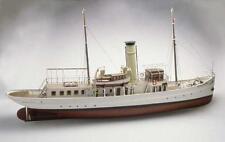 "Exquisite, RC Model Ship Kit by Caldercraft: the ""Schaarhorn Steam Yacht"""