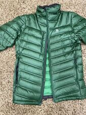 Mountain Hardware Hypedown Exs Down Jacket Small Green