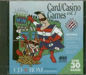 Casino & Card Games Volume 1 Over 30 Programs, New, Windows & DOS Games