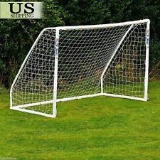 PE 6 x 4ft Football Soccer Goal Post Net Kids Outdoor Football Match Training