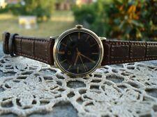 orologio watch montre uhr reloy omega black nero