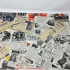 1940s 50s Fire Hose Pumps Apparatus Vintage Trade Print Ad Lot of 21