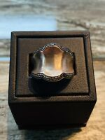 Rose Gold over Sterling Silver Ring, Size 10, Free Shipping, 142