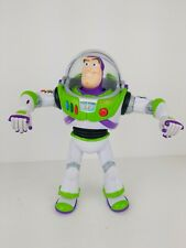 Buzz Lightyear talking action figure Disney- Everything WORKS