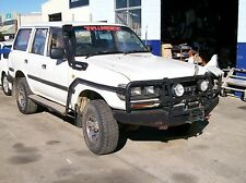 WRECKING TOYOTA L/CRUISER Hzj80 DIESEL 5SPD $1 WHEEL NUT ONLY