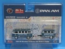 M2 Machines Auto-Haulers PAN AM Volkswagen Bus with trailer MiJo Exclusives