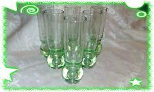 Set 6 Bicchieri Verdi 14,5cm Liquore Limoncello Amaro in vetro Liquori soggiorno