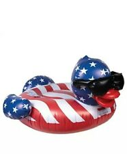 New listing Game 51418-Bb Stars & Stripes Derby Duck Pool Float, Large, Multi