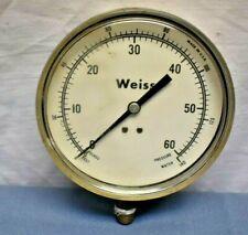 Weiss 0 to 60 Water Pressure Gauge