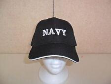 NEW NAVY  HAT BLACK  FREE SHIPPING