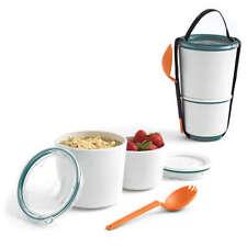 BLACK+BLUM Lunch Pot blau NEU/OVP Lunchbox Aufbewahrung Behälter z. mitnehmen