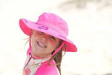 2pk Kids Safari Hat Sun Protective Zone UPF 50 Child Block UV Rays Shade 938151 Pink