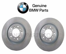 For BMW E46 M3 01-06 Pair Set of 2 Front Vented Brake Disc Rotors GENUINE