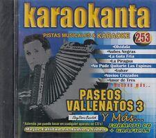Los Iguaran Luis Mateus Celso Pina Paseos Vallenatos 3 Karaoke SEALED