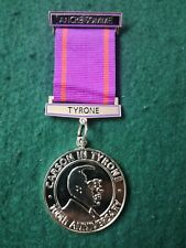 More details for 100th anniversary carson in tyrone orange lodge medal.