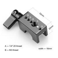 SmallRig QR Schienenklemme (12mm Stab) 1403