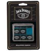 Jack Daniel's Billiard Chalk 6 Pieces JD-30132