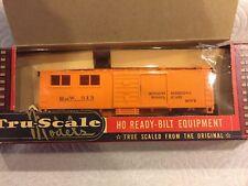 Vintage Tru-scale HO Engineering-Tool Car Kit s1223-0-198 ( Safety Orange )