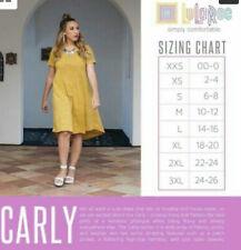 NWT LuLaRoe MYSTERY CARLY Swing Dress: XXS, XS, S, M, L, XL, 2XL, 3XL, FREE SHIP