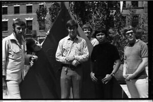 The Association 1960's Rock Folk Group Photo Shoot Original 35mm Camera Negative