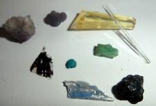 tolle Sammlung plus einen Smaragd Kristall,Panjsher/Afghanistan..