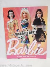 Barbie Collection Catalog Magazine Summer 2014 Collection Mattel Collector Doll