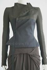 NEW RICK OWENS FITTED STYLISH CHIC JACKET RO2735