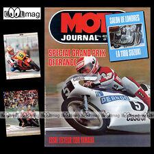 MOTO JOURNAL N°423 YAMAHA XS 1100 TAKAZUMI KATAYAMA 24H DE SPA LUC BUYTAERT 1979