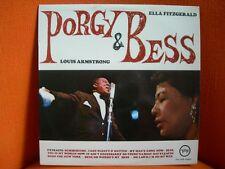 VINYL 33T – LOUIS ARMSTRONG & ELLA FITZGERALD : PORGY & BESS – JAZZ – VERVE / PO