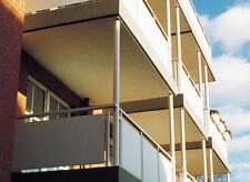Schichtstoffplatten, Balkon- und Fassadenbekleidung