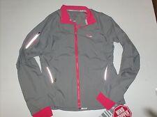 ADIDAS ADISTAR Gore coupe vent veste Tronçon 40 e82026 fibre fonctionelle gris