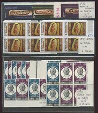 SAMOA 1966-71 SETS DUPLICATED UM 416 stamps cv £125..L1