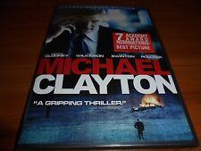 Michael Clayton (DVD, 2008, Full Frame) George Clooney,Tom Wilkinson NEW