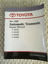 1997 Toyota Paseo 1993 Automatic Transaxle Repair Manual New Mint Never Used
