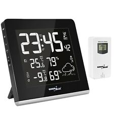 Weather Station WiFi Humidity Forecast USB DFC 9 Colours Mode Clear Display UK
