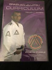 Brazilian Jiu Jitsu DVD Curriculum- Blue to Purple Belt Step-by-Step BJJ System