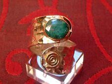 Antique Design - exclusiver Smaragd Ring - Sterling Silber - 925 - Oval Schliff