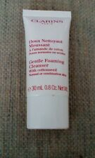 Clarins Gentle Foaming Cleanser with cottonseed 30ml New and Sealed