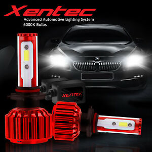 Xentec 9005+9006 LED 2600W 390000LM Combo Headlight High + Low Beam 6K Kit