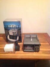 "BENTLEY PORTABLE 5"" BLACK & WHITE TV - NEW IN BOX, WITH BONUS POWER ADAPTER!"