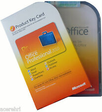 Microsoft OFFICE Professional 2010 Box Dauerhafte Vollversion MLK Pro ML Deutsch