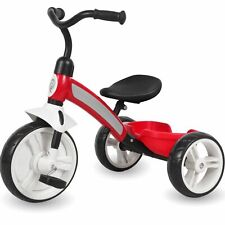 Kinderdreirad ab 2 Jahre Kinder Dreirad Roller Rad Fahrrad Jungen Mädchen Rot