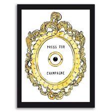 Press For Champagne Art Fashion Art Kitchen Art Living Room Print Wall Art Decor