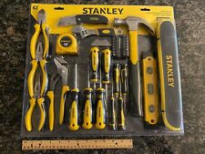Stanley 62-Piece Mixed Hand Tool Set With Bag - Stht75985 Makes A Great Gift!