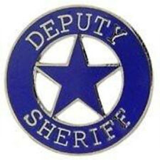 Collector Pin Deputy Sheriff New Metal Lapel Pins Law Enforcement